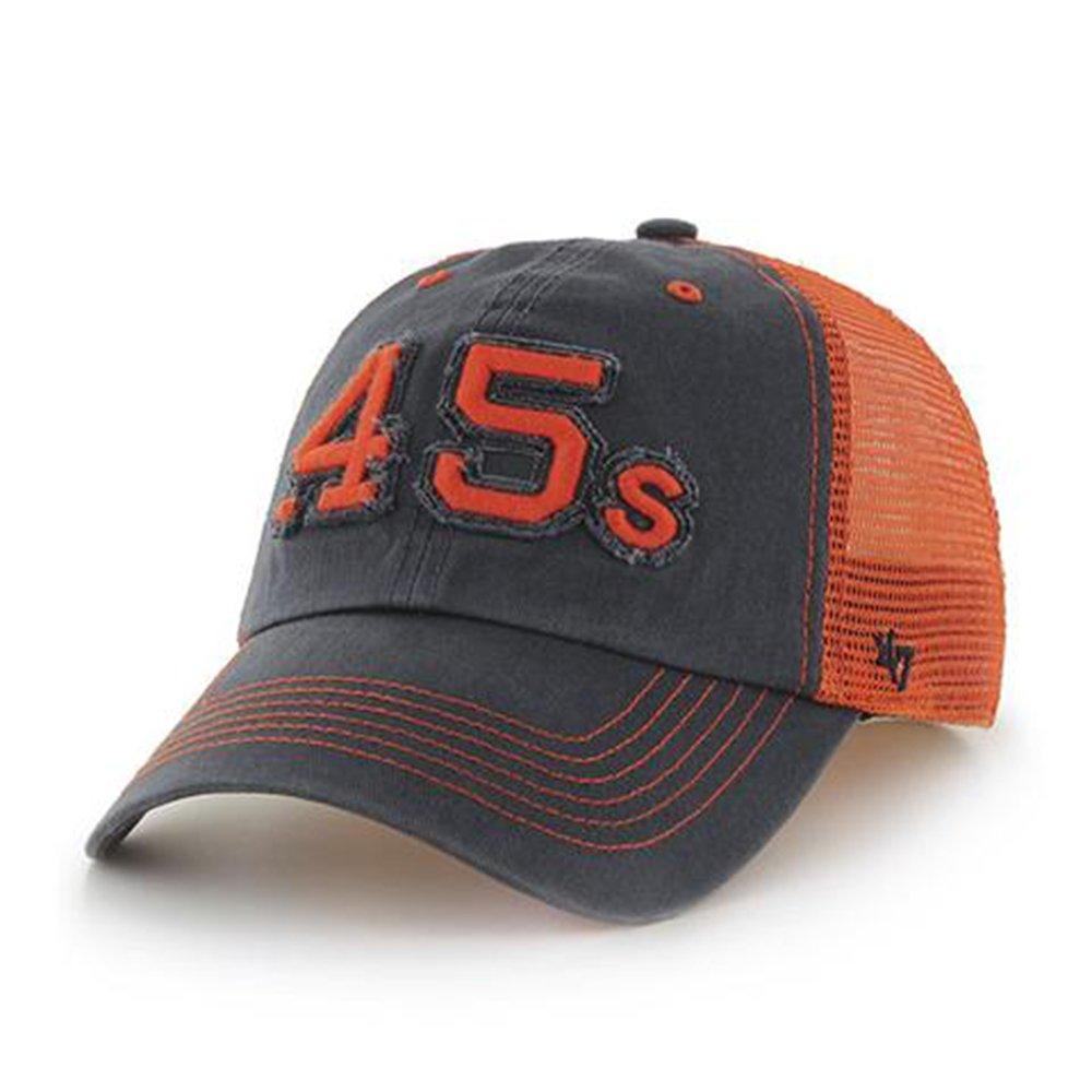 3234196e3e7e2 47 Brand. MLB Houston Astros .45 s Stretch Fit Taylor Closer Cap -  Navy Orange