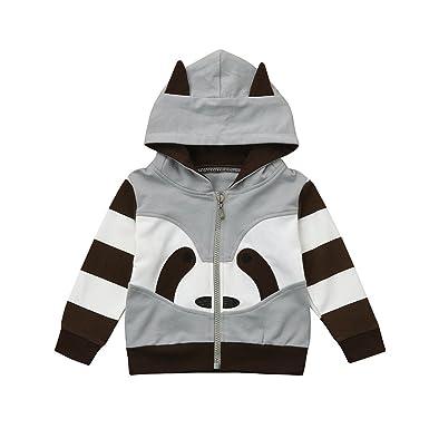 4f789af4f Amazon.com  Bokeley Toddler Coat Girls Boys Clothes Cartoon Long ...