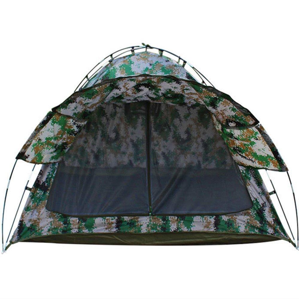 TLMY Großer Raum-Camping-Zelt-Digital-Tarnungs-vorderes Sun-Zelt-im Freien Doppeltes Camping-Zelt Zelte
