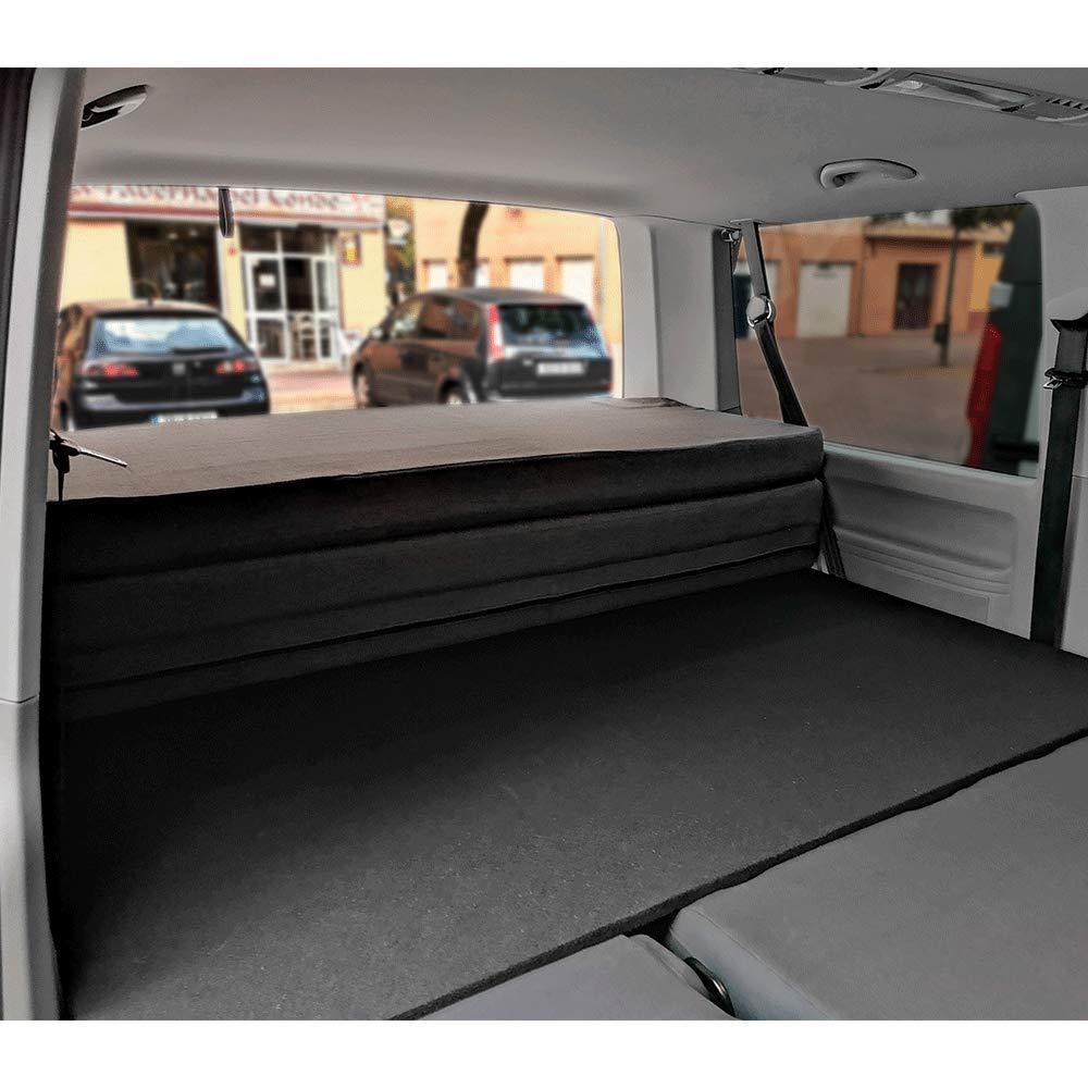 KFoam.es Colchón Plegable para Volkswagen T5, T6, Multivan, California Beach y Caravelle 185x148x8 cm: Amazon.es: Juguetes y juegos