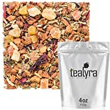 Tealyra – Ice Cider Mate – Hibiscus – Pineapple – Lemongrass – Herbal Fruity Loose Leaf Tea – Hot and Iced – Caffeine Free – 4oz/112g Review