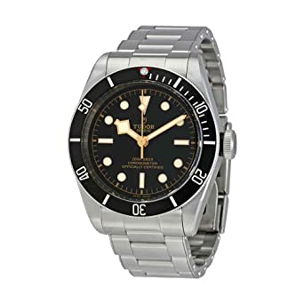 f35e7512c31 Image Unavailable. Image not available for. Color  Tudor Heritage Black Bay  Automatic Mens Watch ...