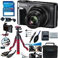 Canon PowerShot SX720 HS 20.3MP Digital Camera + Deal-Expo Advanced Accessories Bundle
