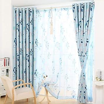 Amazon.de: curtain Clothes UK- Startseite gelochten Fenster Vorhang ...