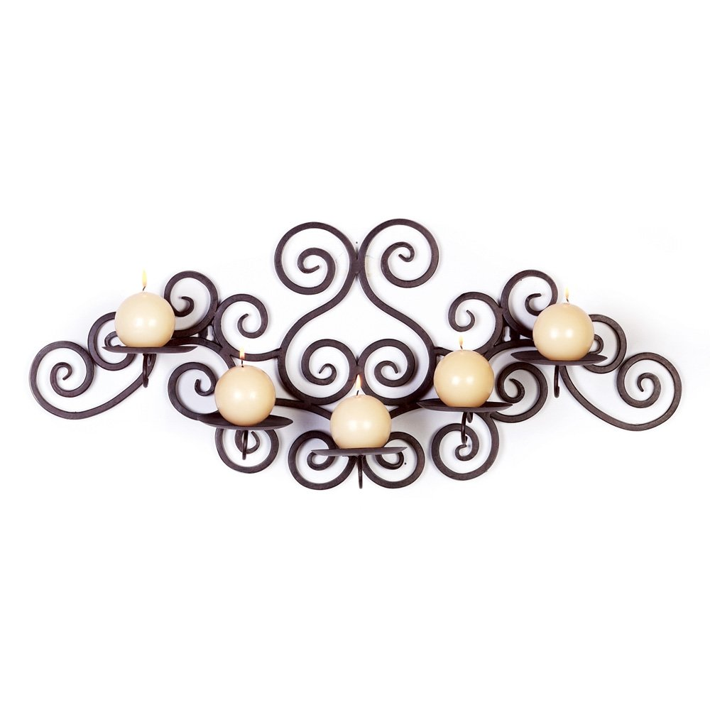 amazoncom gifts  decor scroll work candle holder home  kitchen -