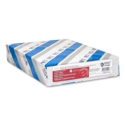 Elite Image ELI45002 - Papel para impresora láser (500 hojas ...