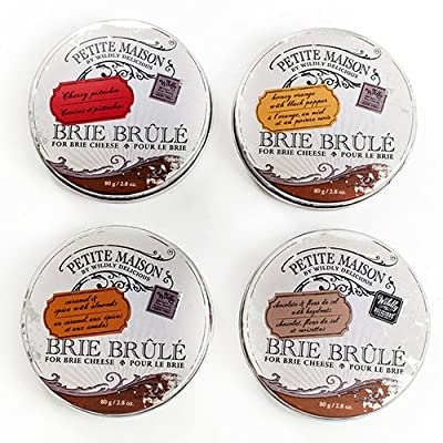 Brie Brule for Brie Cheese - Chocolate & Fleur de Sel with Hazelnuts (2.8 ounce)