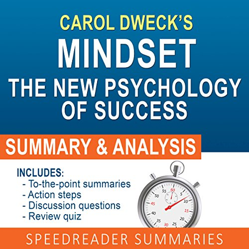 Thing need consider when find mindset carol dweck audiobook?