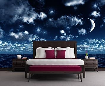 Fototapete sternenhimmel  Vliestapete Nachthimmel VT45 Größe:400x280cm, Fototapete, Vlies ...