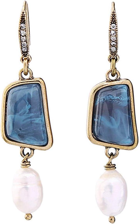Thumby Largo, con Pendientes de niña de Diamantes, Accesorios Vintage y Accesorios versátiles, Piedras Preciosas y Pendientes de niña de Diamantes