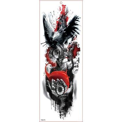 7pcs Completa del brazo del tatuaje del brazo Virgen mangas del ...
