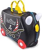 Trunki Children's Ride-On Suitcase: Pedro the Pirate Ship (Black)