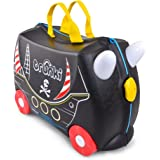 Trunki Pedro the Pirate Ship Ride On and Carry Suitcase (Black) Kindergepäck, 46 cm, 18 liters, Schwarz