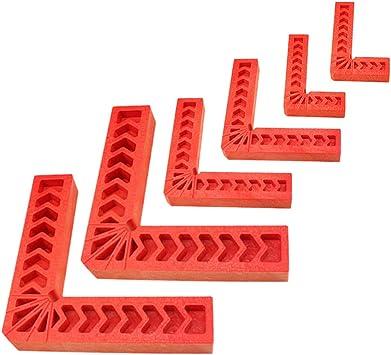 Schr/änke oder Schubladen Set mit 16 St/ück 90-Grad-Winkel f/ür Bilderrahmen Duratec Positionierwinkel 7,6 cm, 8 St/ück + 10,2 cm, 4 St/ück + 15,2 cm Boxen Holzbearbeitungswerkzeug