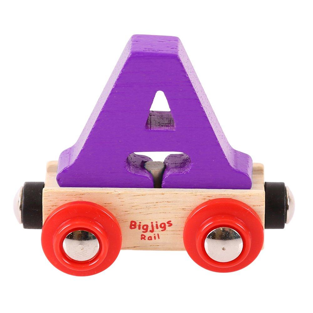 Bigjigs Rail Rail Buchstabenzug S (Dunkelblau) Bigjigs Toys