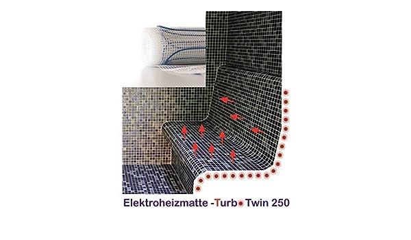 Turb otwin - Alfombra calentadora para bancos de calor y calor Liegen, dimensiones: 80 x 100 cm: Amazon.es: Iluminación