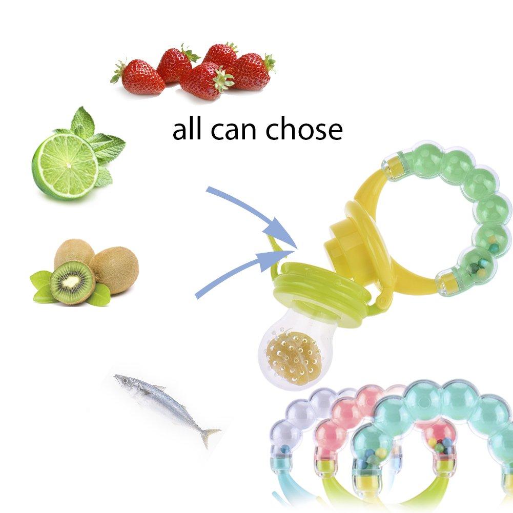 Pueri Mordedor silicona Alimentador de verdura y fruta forma ...