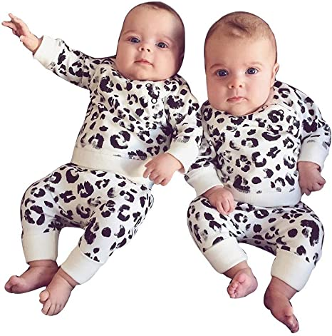 Hose Outfits Kleidung Set Bekleidungsset Kleinkind Outfit Langarm Sweatshirts Pants Lang Babykleidung Neugeborenes Baby M/ädchen Jungen Warm Hoodie T-Shirt Top