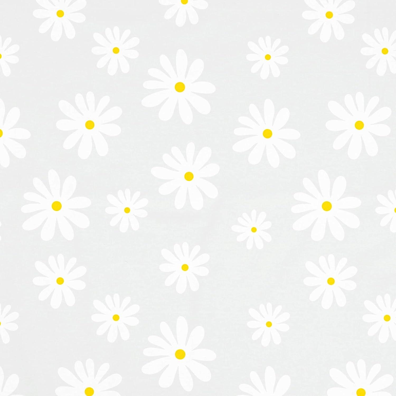 Encasa Homes B/ügelmatte Gro/ß 120 x 70 cm Hitzebest/ändige Tischb/ügeldecke Daisy Blue mit 3 mm Polsterung /& Silikonb/ügel f/ür Dampfb/ügeln auf Tisch oder Bett bugeltischauflage bugelunterlage