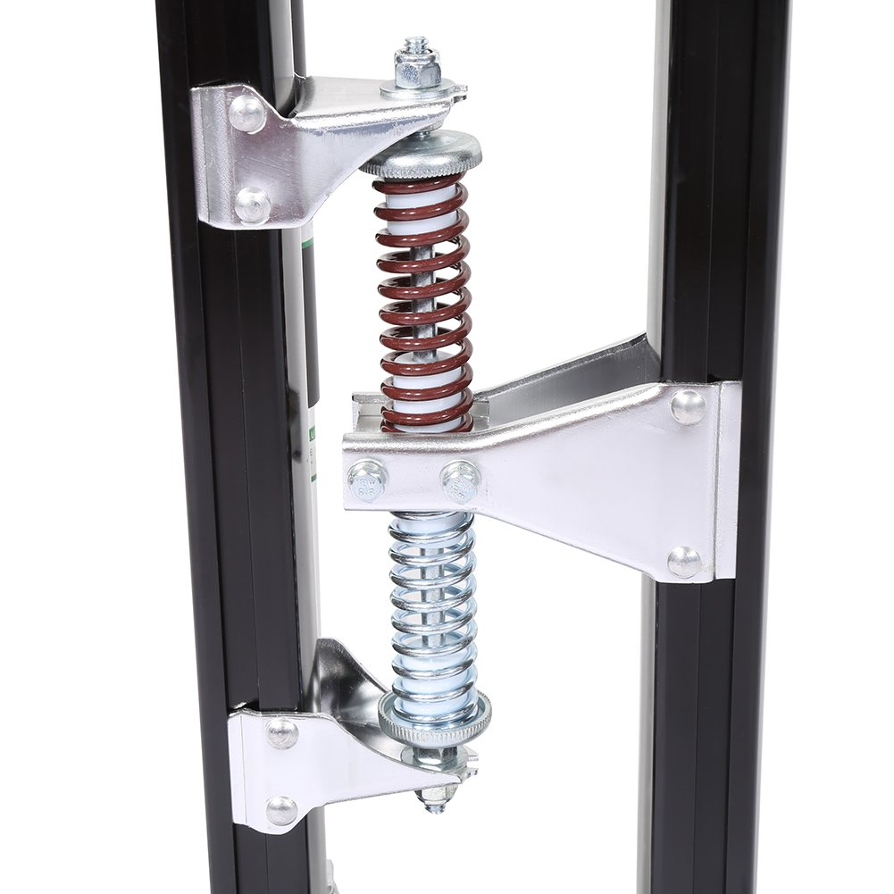 Aleaci/ón de Aluminio Profesional Ajustable Pilotes de Drywall Zancos de Revestimiento Herramienta de Pintor Plata 61-102cm Yosoo 24-40 Pulgadas