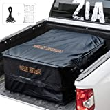 FieryRed Truck Cargo Bag with Cargo Net,100% Waterproof Heavy Duty Truck Bed Storage Bag, 8 Rubber Handles Fits Any…