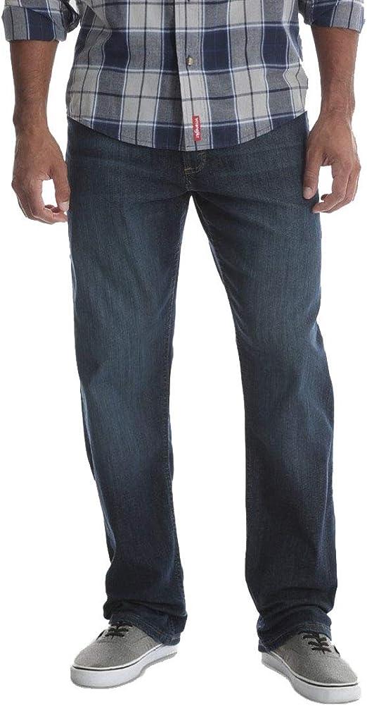 Wrangler メンズ 5ポケット リラックスストレートフィット パフォーマンスシリーズ ジーンズ フレックス付き