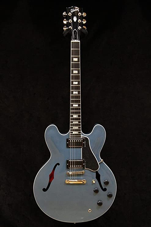 Nueva Memphis Gibson ES-335 Pelham azul 2016 guitarra eléctrica ...