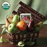 Organic Bloom Fruit Basket - The Fruit Company