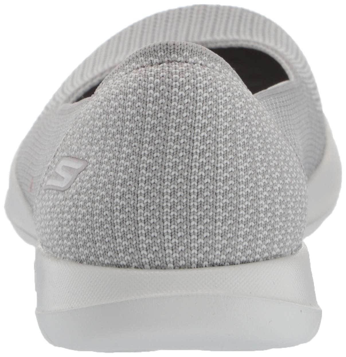 Skechers Frauen Flache Schuhe Grau