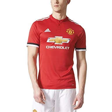 78afb1364 adidas Manchester United Home Authentic Jersey S Real Red-White-Black