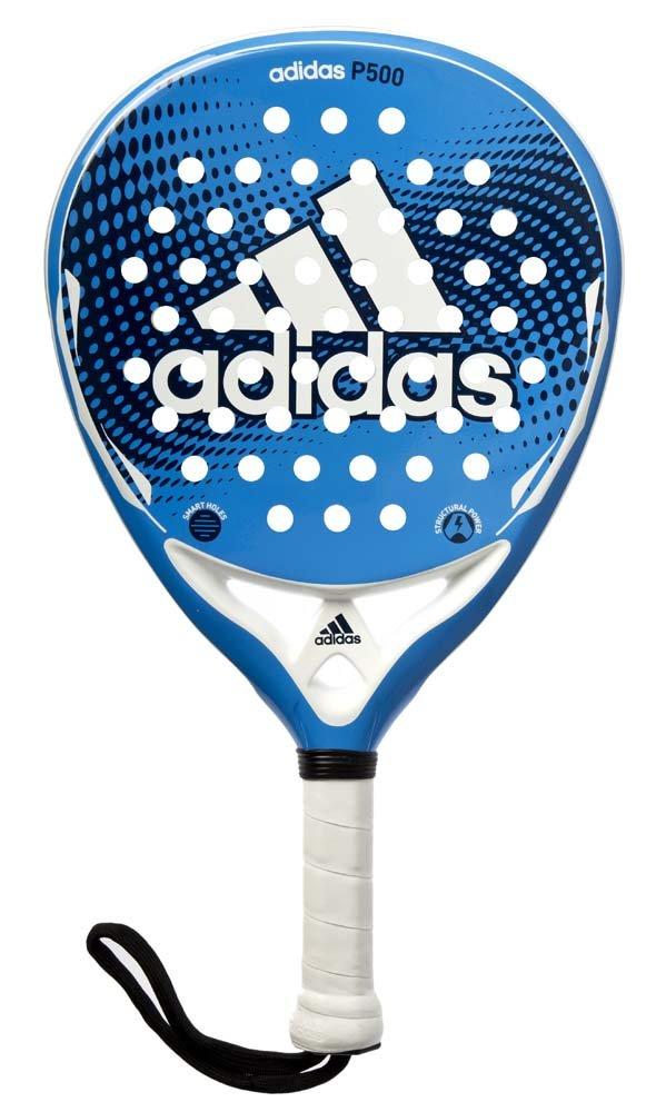 adidas P500 - Pala pádel Unisex, Color Azul/Blanco, Talla ...