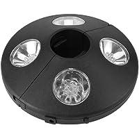 Luces para Sombrillas, 24 LED, Lámpara LED para sombrilla, Luz LED de parasol Lámparas de Noche Inalámbricos para Paraguas de Jardín Patio Playa Terraza y Piscina