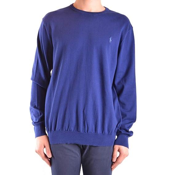 nuovo stile cd684 f45ea Ralph Lauren Maglia Uomo Polo Blue: Amazon.co.uk: Clothing