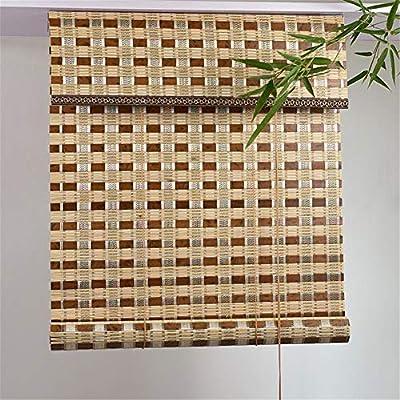 Yao Persianas Enrollables de Bambú, Cortina Exterior de Bambú Carbonizado Persianas Enrollables de Invernadero, Protección Solar UV, Pabellón del Patio Pergola Veranda Toldos de Jardín: Amazon.es: Hogar