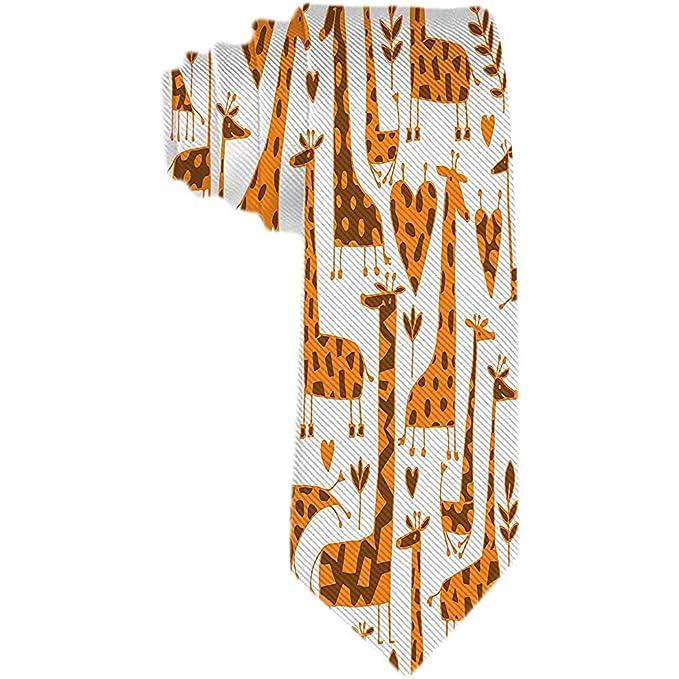 Corbata de patrón de animales para hombre Corbata de seda clásica ...