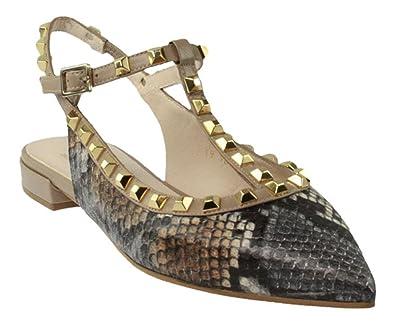 quality design 4005b 19c55 Lodi   Belgica   Sling Ballerina - snake   grau, Farbe:grau ...