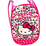 hello kitty storage bin - CJB Hello Kitty Foldable Pop Up Hamper Laundry Bag (US Seller)