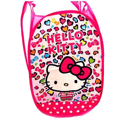 CJB Hello Kitty Foldable Pop Up Hamper Laundry Bag (US Seller)