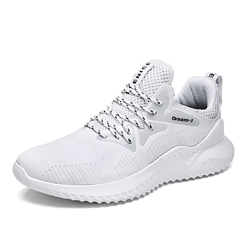 8dc8b92e79dbe5 Chaussure Sport Homme de Course Running Compétition Trail Basket Sneakers  Ete Mesh Fitness Gym Casual Shoes