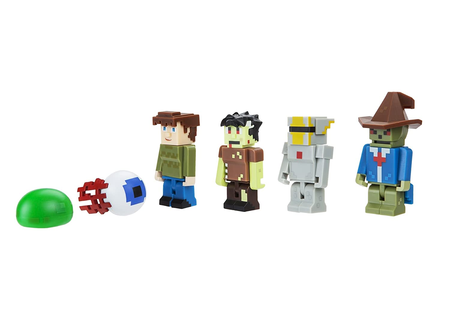 Terraria World Collectors 6 Pack Fully Articulated Action Figures Wiring Guide Set Includes Silver Armor