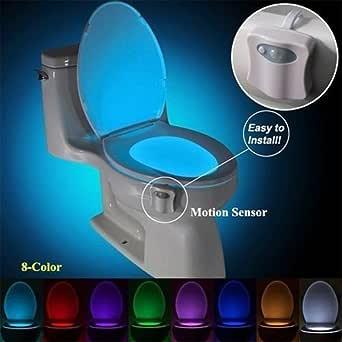 MTSZZF WC luz nocturna LED Luz de Inodoro Luz con Descubrimiento ...