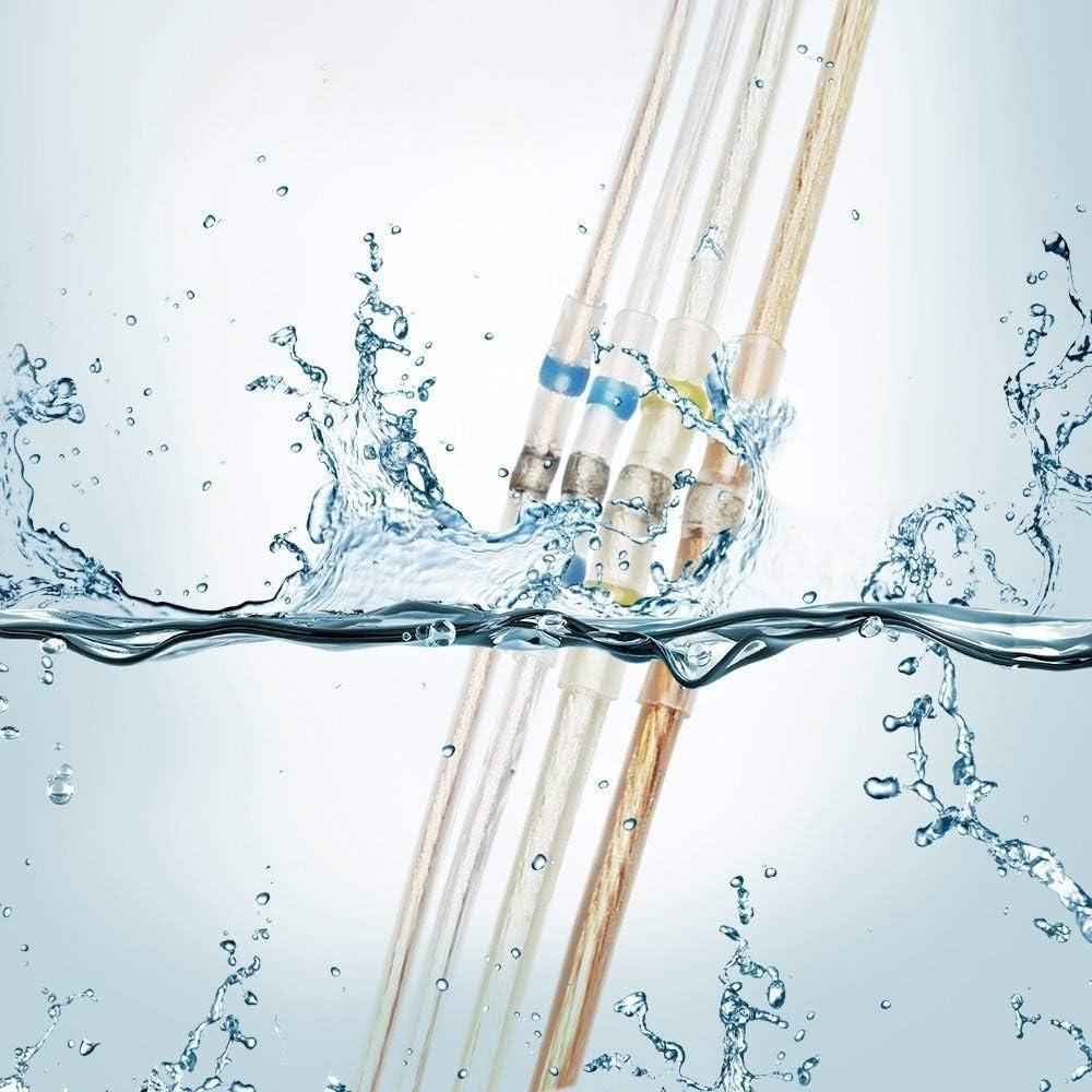 Cosses thermoretractable electriques 10pcs,Soudure connecteur thermor/étractables gaine electrique exterieur Connecteurs