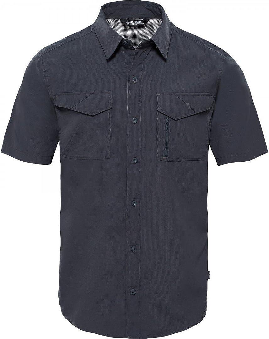 North Face M S/S Sequoia Camisa, Hombre, Gris (Asphalt): Amazon.es: Ropa y accesorios