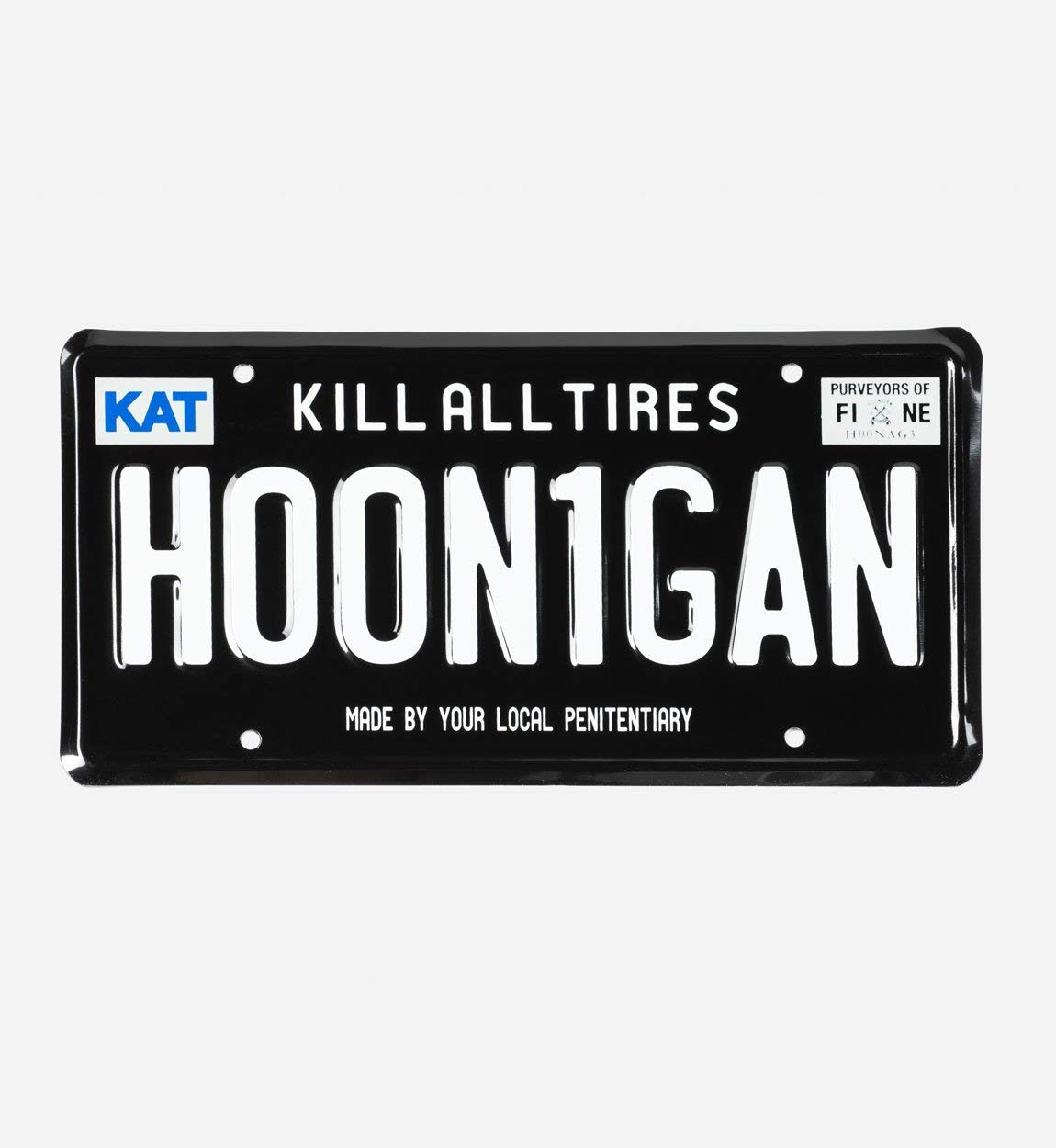 Hoonigan License Plate Then Buy This Plate.