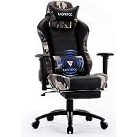 UOMAX Gaming Stuhl Ergonomische Kunstleder Bürostühle für Computer