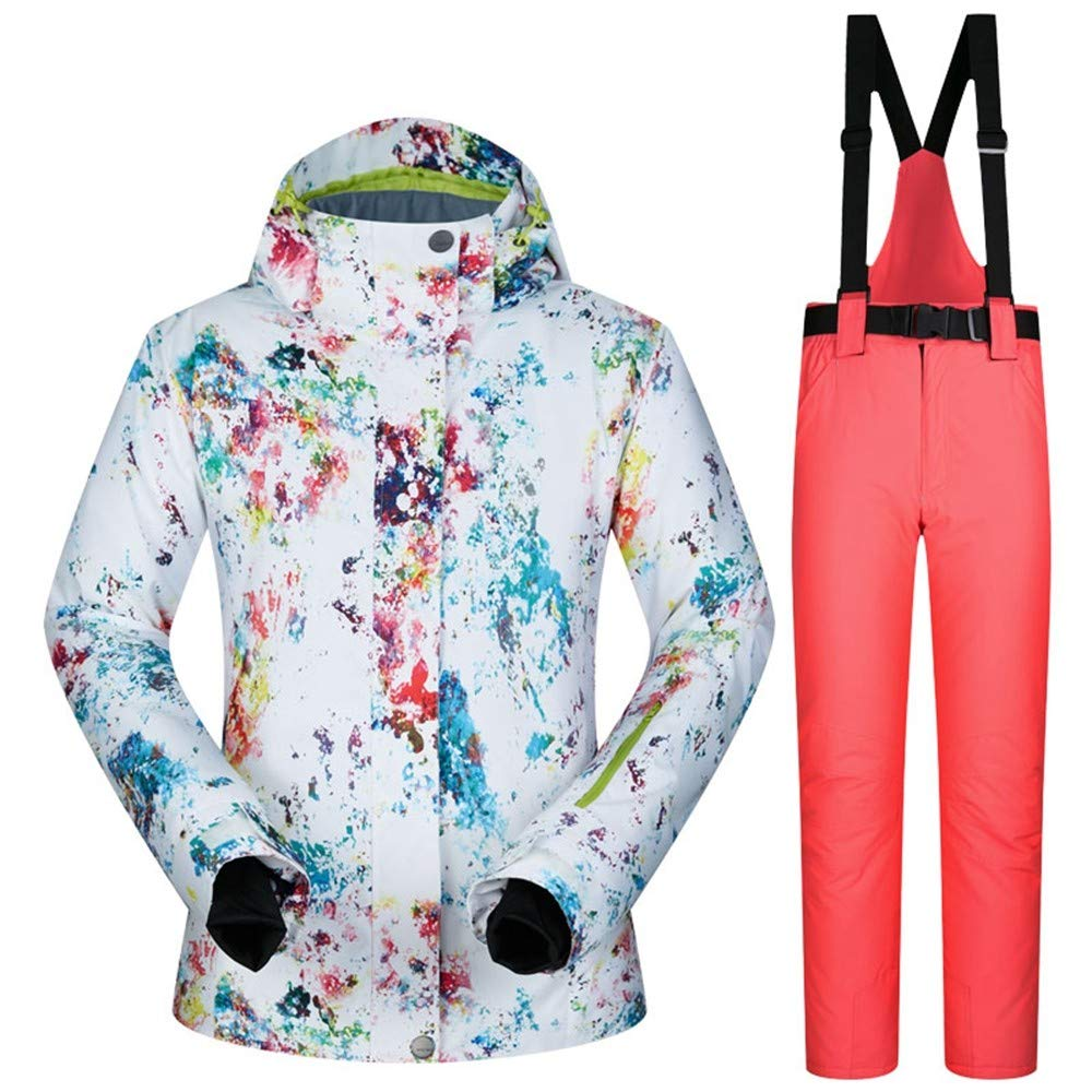 QZHE Tuta da sci Tute da Sci Sci Sci Donna Inverno Tuta da Neve Abbigliamento da Snowboard da Sci Femminile Antivento Impermeabile per Sport all'Aria Aperta Giacche E Pantaloni, XLB07L9J6N6KS   Lo stile più nuovo    acquistare    Fashionable    Moda moderna ed 0e6cc6