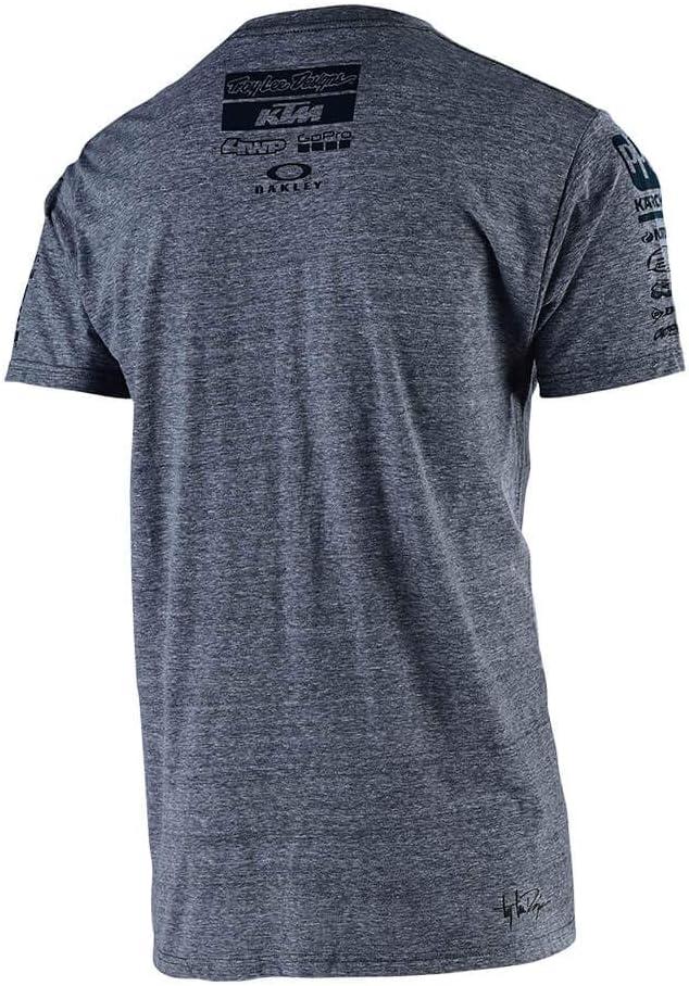 Camiseta para adulto Small blanco Troy Lee Designs KTM Team