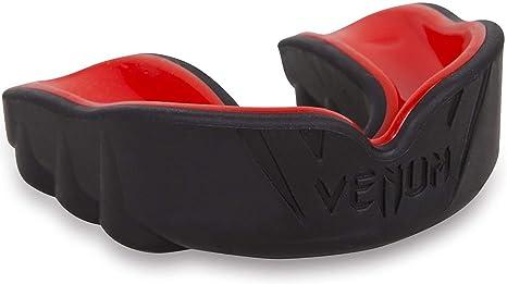 Venum Predator Paradenti Nero//Rosso gumshield BOXE RUGBY MMA Arti Marziali