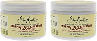 product image for Shea Moisture Jamaican Black Smoothie Strengthen 12 Ounce Jar (354ml) (2 Pack)