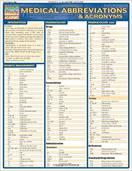 amazon medical abbreviations acronyms quick reference guide